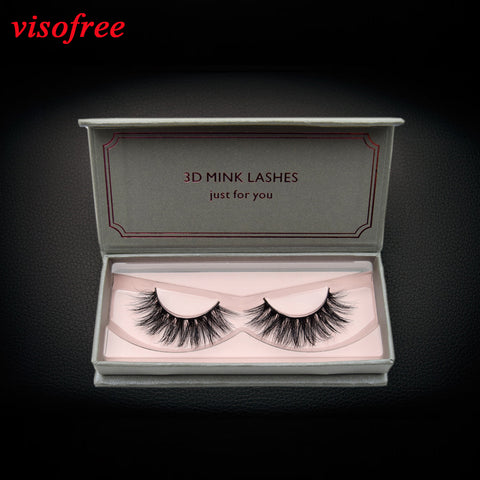 eyelashes 3D Mink Lashes Full Strip Lashes False Eyelashes Handmade Mink Lashes Cruelty free Reusable Upper Lashes D22