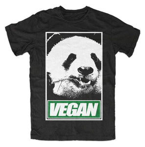 MEN'S VEGAN PANDA T-SHIRT
