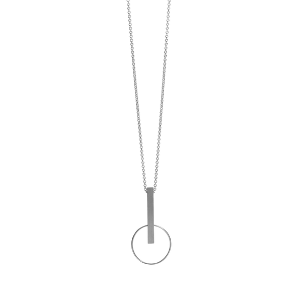 Enigma Necklace - Silver