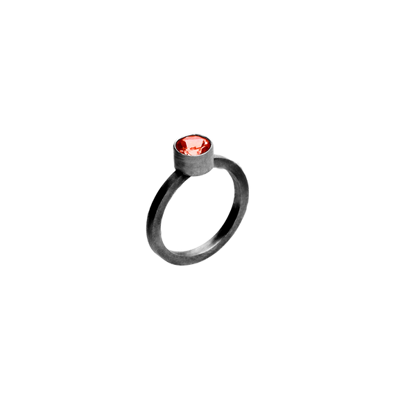 Color Ring, 5 Varianter - Oxidized Silver