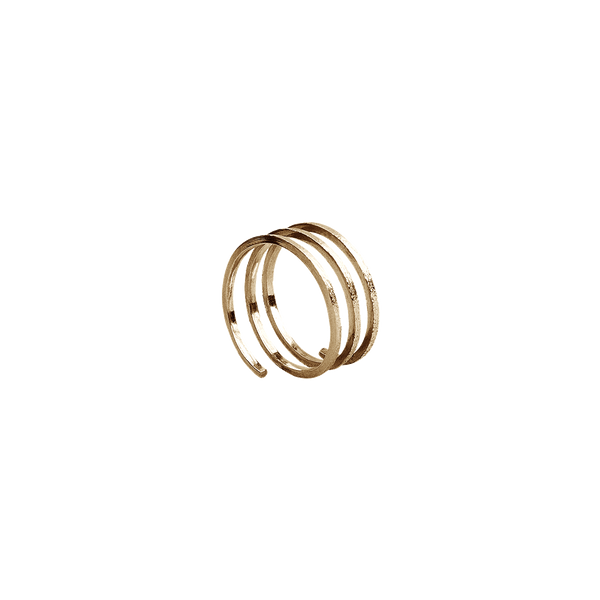 Temptation Ring - Gold Plated Silver