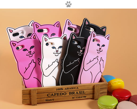 Cat Silicone Case