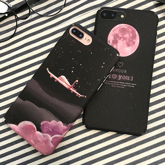 Fashion Cartoon Space Moon Cover