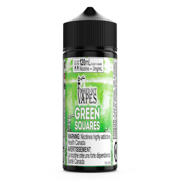 Green Squares - 70 VG/30 PG - FOV Labs Inc.