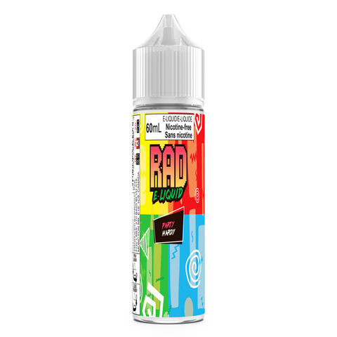 RAD E-Liquid - PARTY  HARDY 70Vg/30Pg