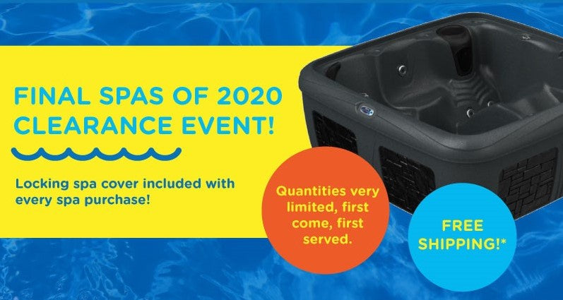 2020 Spa Clearance: Hydrotherapy Models