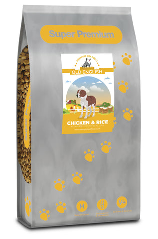 Super Premium Dog Food: Chicken with Rice