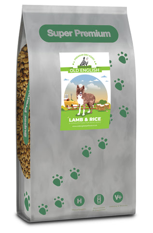 Super Premium Dog Food: Lamb with Rice