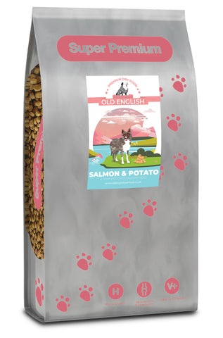 Super Premium Dog Food: Salmon & Potato