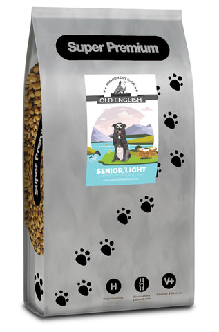 Super Premium Dog Food: Senior & Light