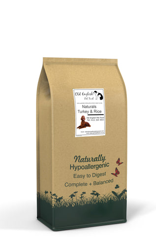 Natural Dog Food Turkey & Rice