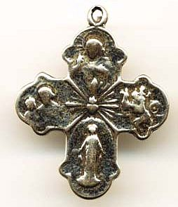 Religious Four Way Medal
