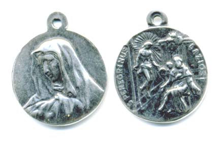 Saint Peregrine Medal Patron Saint of Cancer Victims