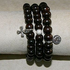 Three Sandalwood Bracelets
