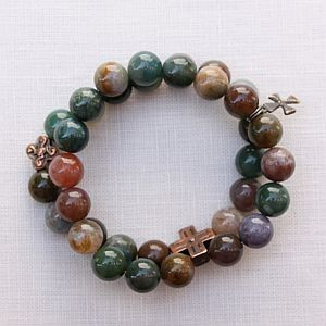 Fancy Jasper Double Bracelet