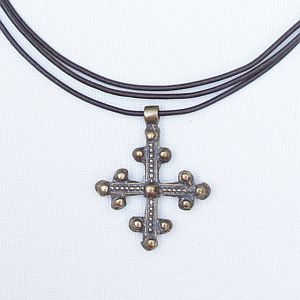 Gothic Cross, Sterling or Bronze