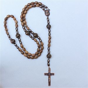 Mens Olivewood Rosary
