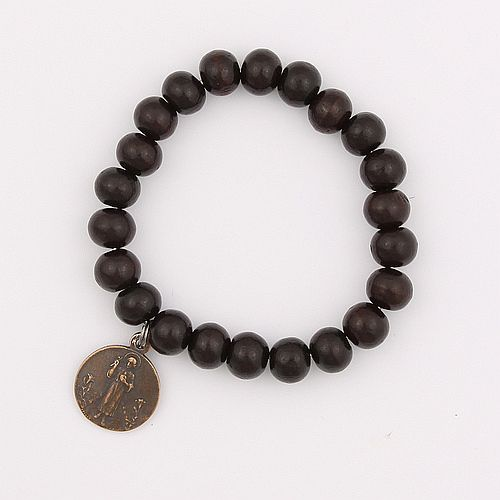 Traditional Guardian Angel Sandalwood Bracelet