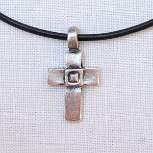 Square Cross Necklace