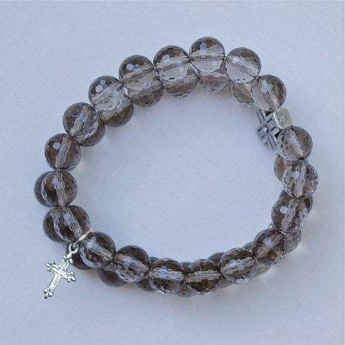 Smokey Quartz Double Bracelet