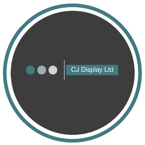 C J Display logo