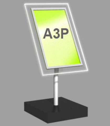 A3 Portrait Freestanding Light Panel