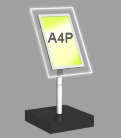 A4 Portrait Freestanding Light Panel