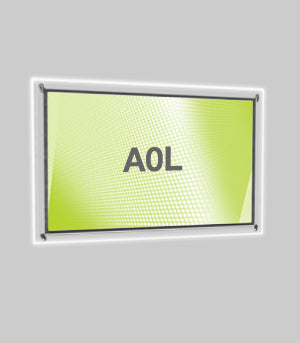 A0 Landscape Wall Mounted Light Panel