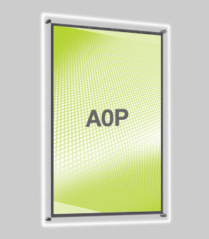 A0 Portrait Wall Mounted Light Panel