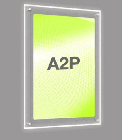 A2 Portrait Wall Mounted Light Panel