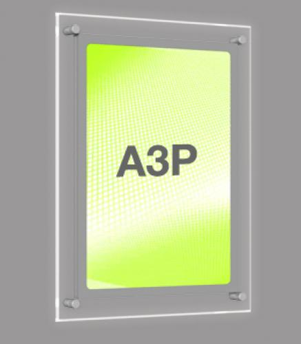 A3 Portrait Wall Mounted Light Panel
