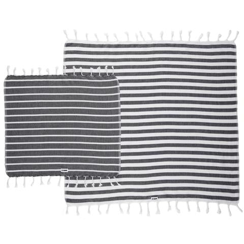 Towfer Towel M/L Even Stripe