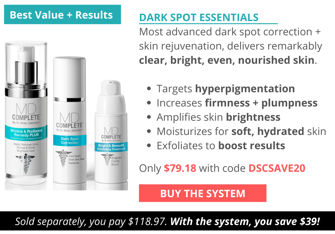 Best Results with Dark Spot Essentials Skincare System