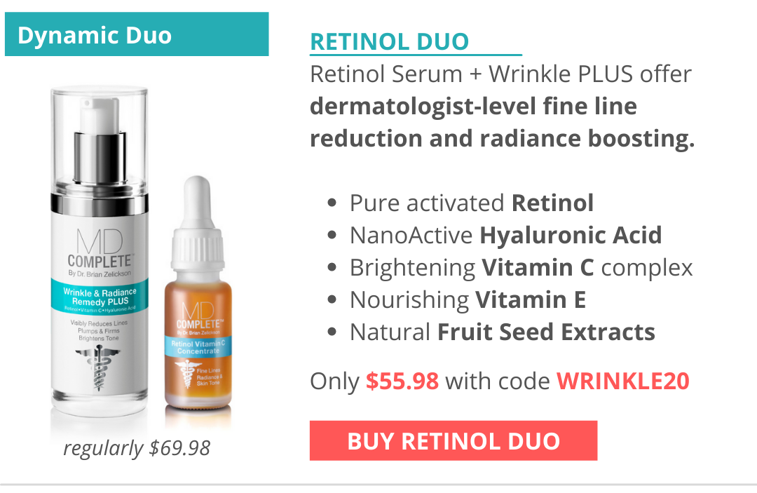 Your dynamic duo for fine line reduction and radiance boosting, comparable to laser treatments