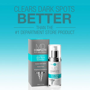 Clears Dark Spots Better