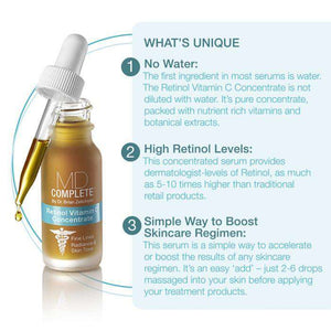 High Potency Retinol + Vitamin C Serum