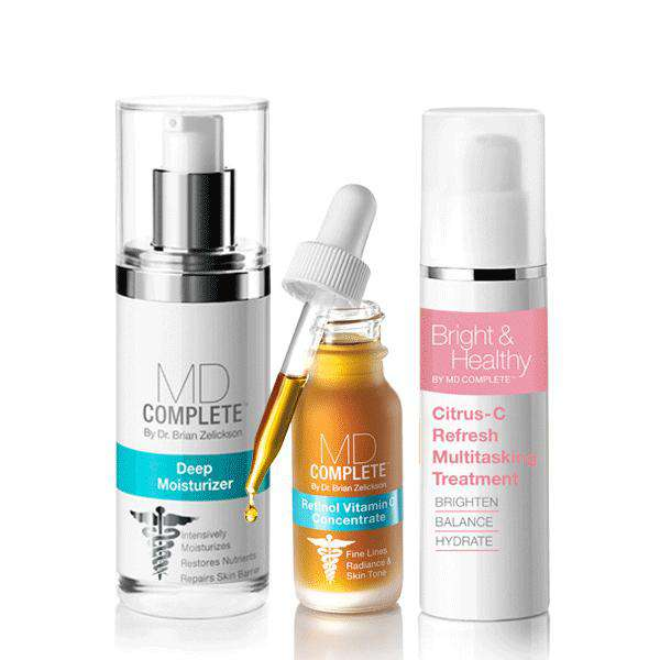 Revitalize + Restore Stressed Skin System