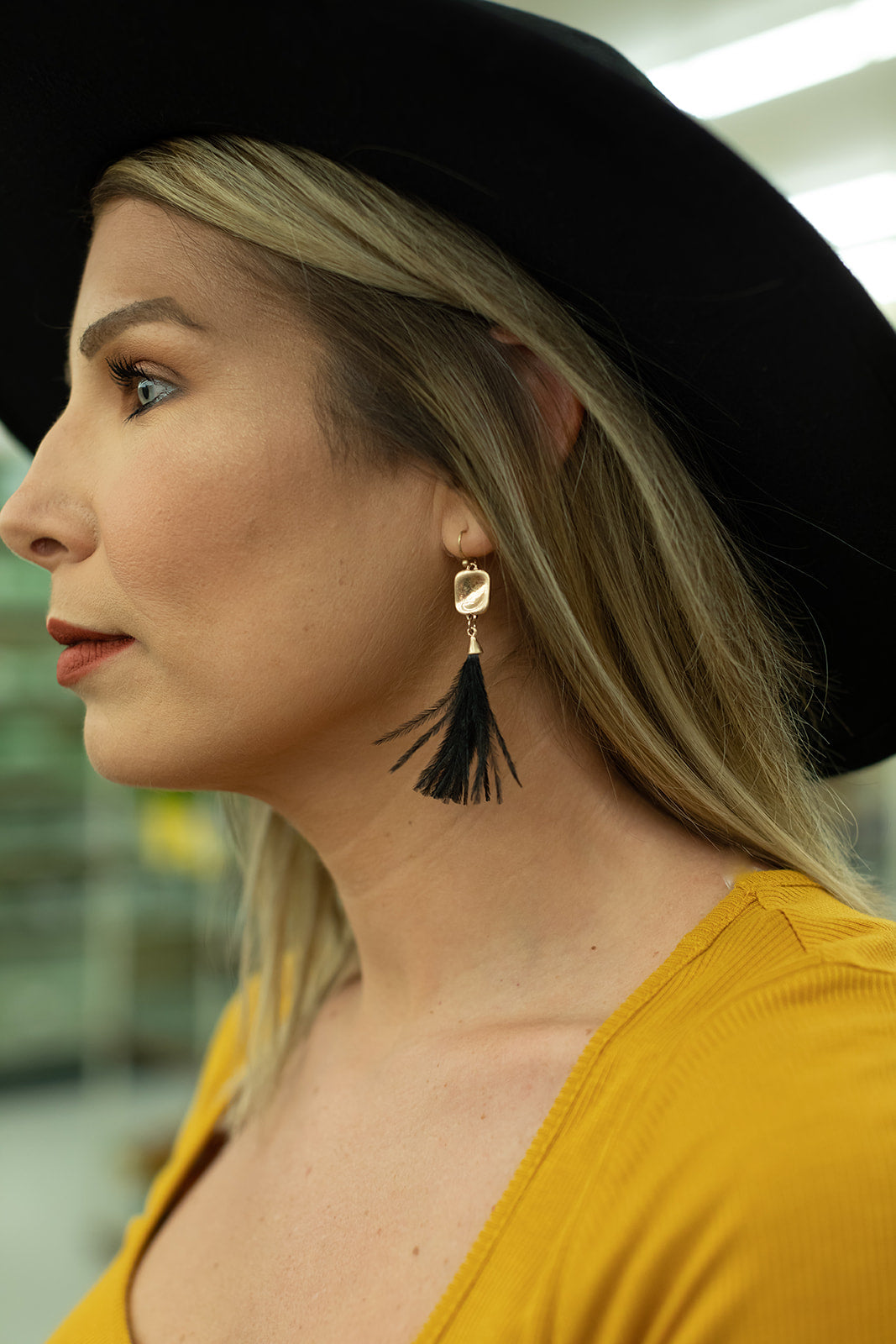 Wild & Free Feather Earrings