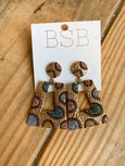 Stunning Spotted Earrings