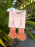 St. Thomas Tassel Earrings