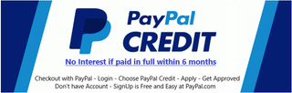 PayPal Credit Apply at PayPal.com