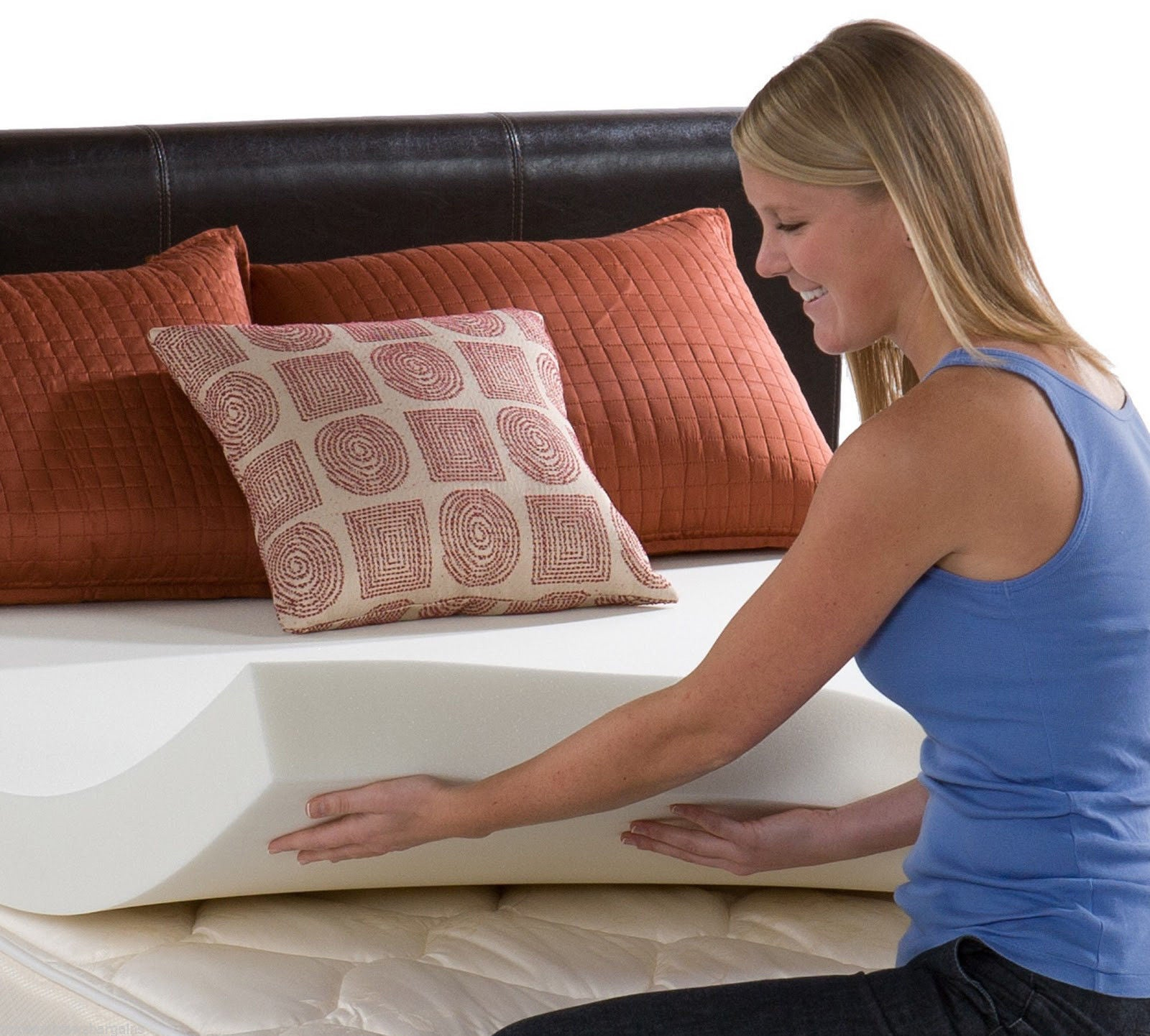 Mattress Angel® Memory Foam Mattress Topper Pad