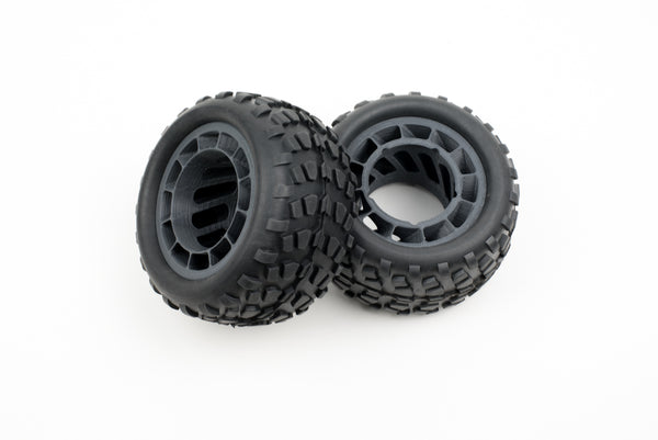 Wheel rims with tires