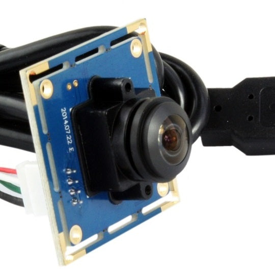 Fisheye USB single-board camera