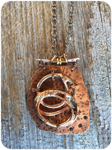 Eclectic Copper Necklace
