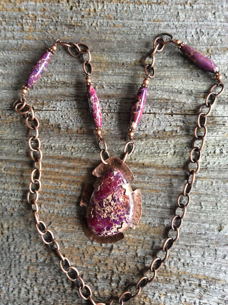 Impresssion jasper Necklace