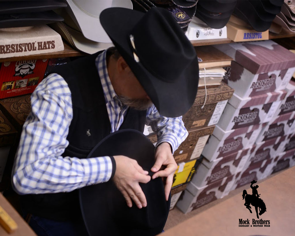 Shaping A Cowboy Hat | How Mock Brothers Sets Itself Apart