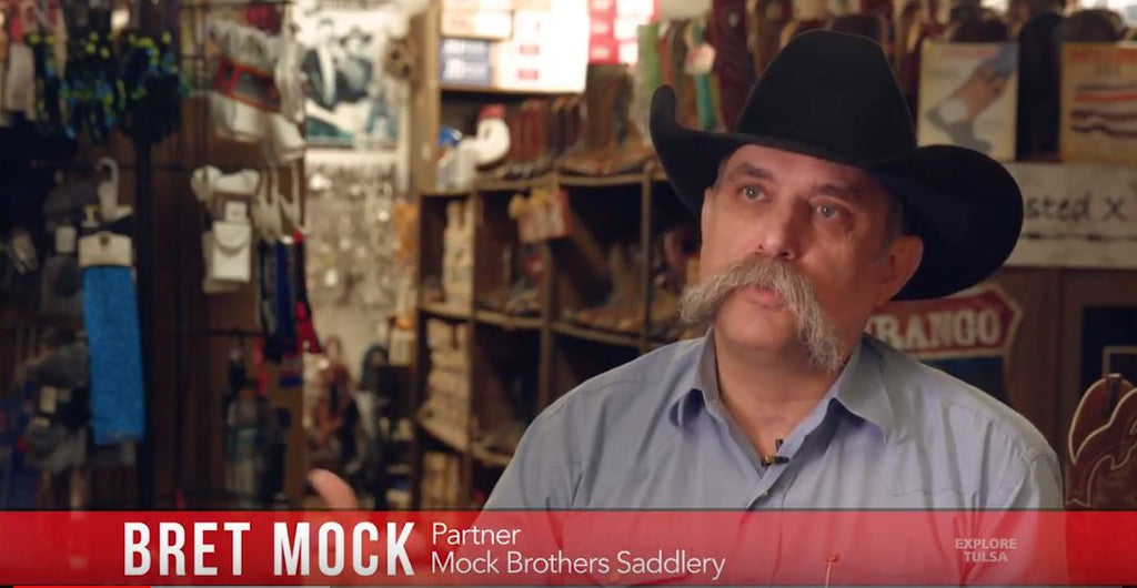 Mock Brothers Saddlery featured on Explore Tulsa