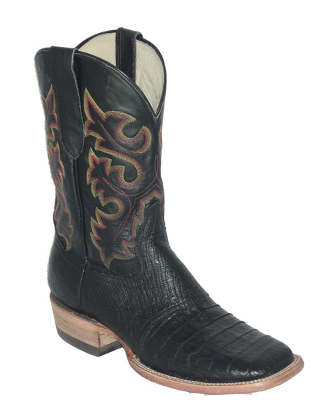 Boots - Cowtown Men's Black Real Gator/ 1476 - Cowtown - Mock Brothers Saddlery and Western Wear