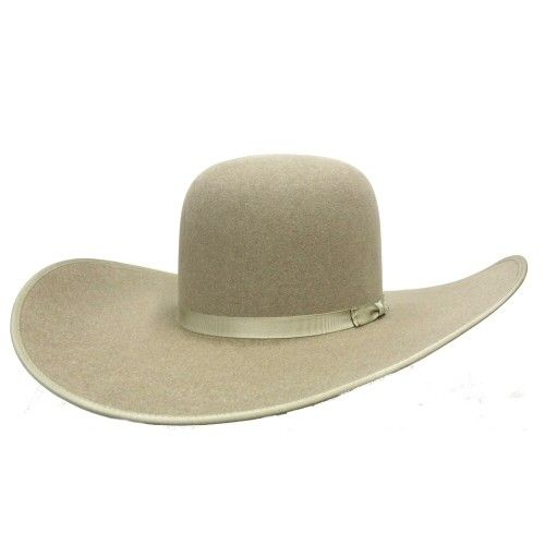 Hats - Rodeo King Open Crown Ash 7X 6 Match Hat - Rodeo King - Mock Brothers Saddlery and Western Wear